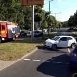 Verkehrsunfall auf der Fritz Löffler Straße